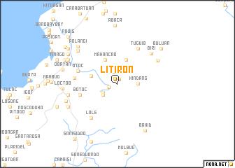 map of Litiron