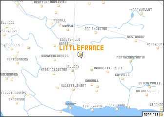 Little France (United States - USA) map - nona.net on little map of texas, little map of jamaica, little map of italy, little map of cyprus, little map of egypt, little map of chicago, little map of west virginia, little map of delaware, little map of asia, little map of florida, little map of ecuador,