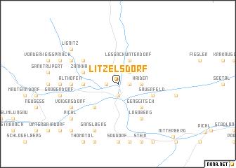 map of Litzelsdorf