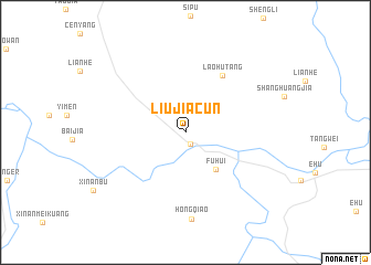 map of Liujiacun
