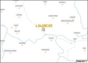map of Liujiacun
