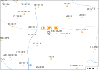 map of Liuqiying