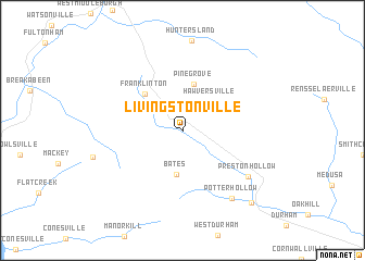 map of Livingstonville