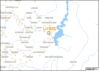map of Liyang