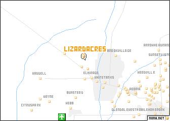 map of Lizard Acres
