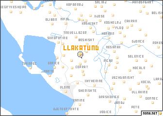 map of Llakatund