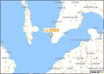 map of Llanos