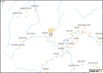 map of Lli