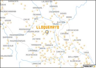 map of Lloquemayo