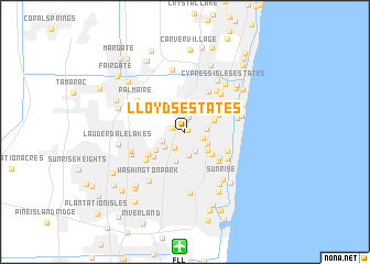 map of Lloyds Estates