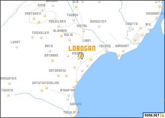 map of Lobogan