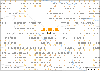 map of Lochbühl
