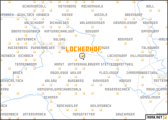 map of Locherhof
