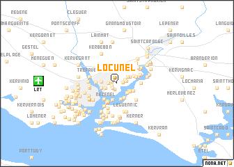 map of Locunel