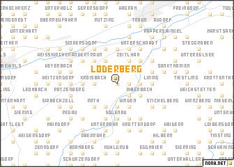 map of Loderberg