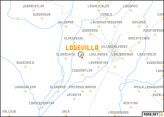 map of Lo de Villa