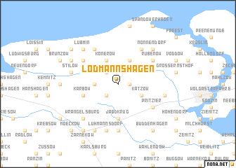 map of Lodmannshagen