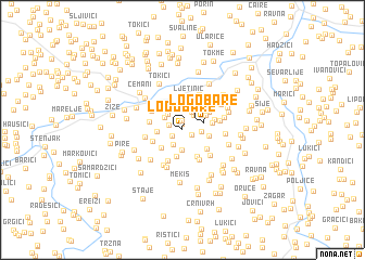 map of Logobare