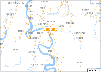 map of Logung