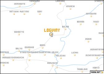 map of Logviny