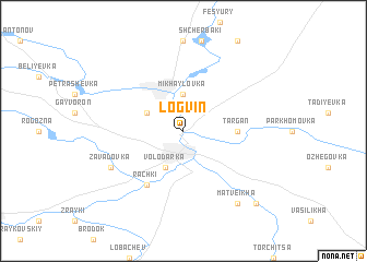 map of Logvin