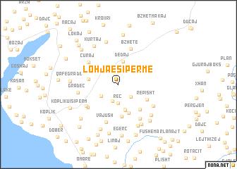 Lohja e Siprme Albania map nonanet