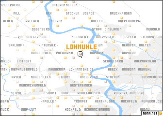 map of Lohmühle