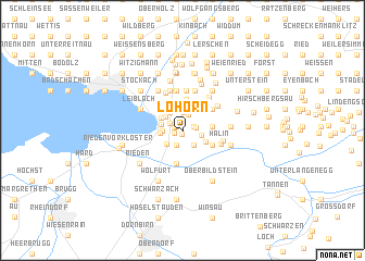 map of Lohorn