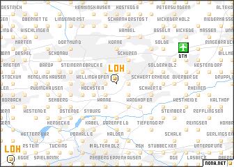 map of Loh