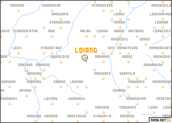 map of Loi-ang