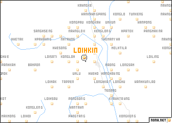 map of Loihkin