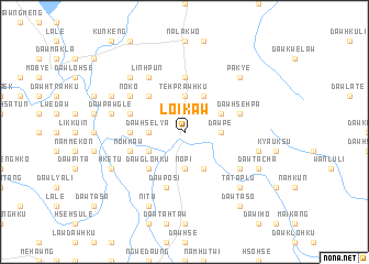 Loikaw in Myanmar: general information, weather, map, photo and video