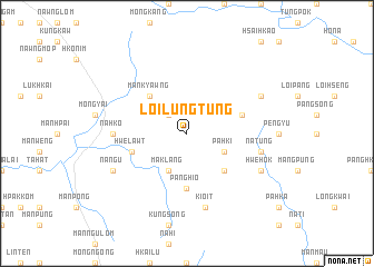 map of Loi-lungtung