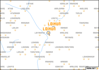 map of Loimun