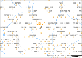 map of Loi-un