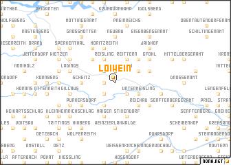 map of Loiwein
