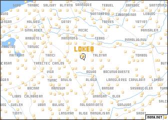 map of Lokeb