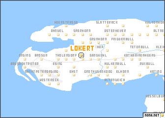 map of Lokert