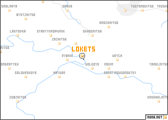 map of Lokets