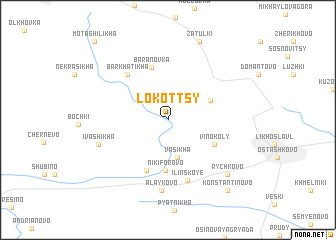 map of Lokottsy