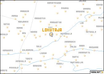map of Lokutaja