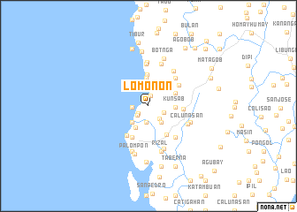 map of Lomonon