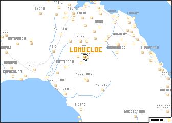 map of Lomucloc