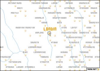 map of Londin