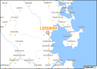 map of Long Bình