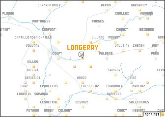 map of Longeray