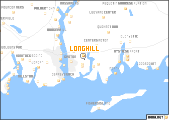 map of Long Hill
