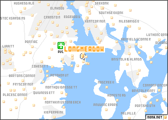 map of Longmeadow