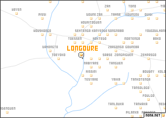 map of Longouré