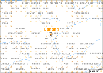 map of Longra